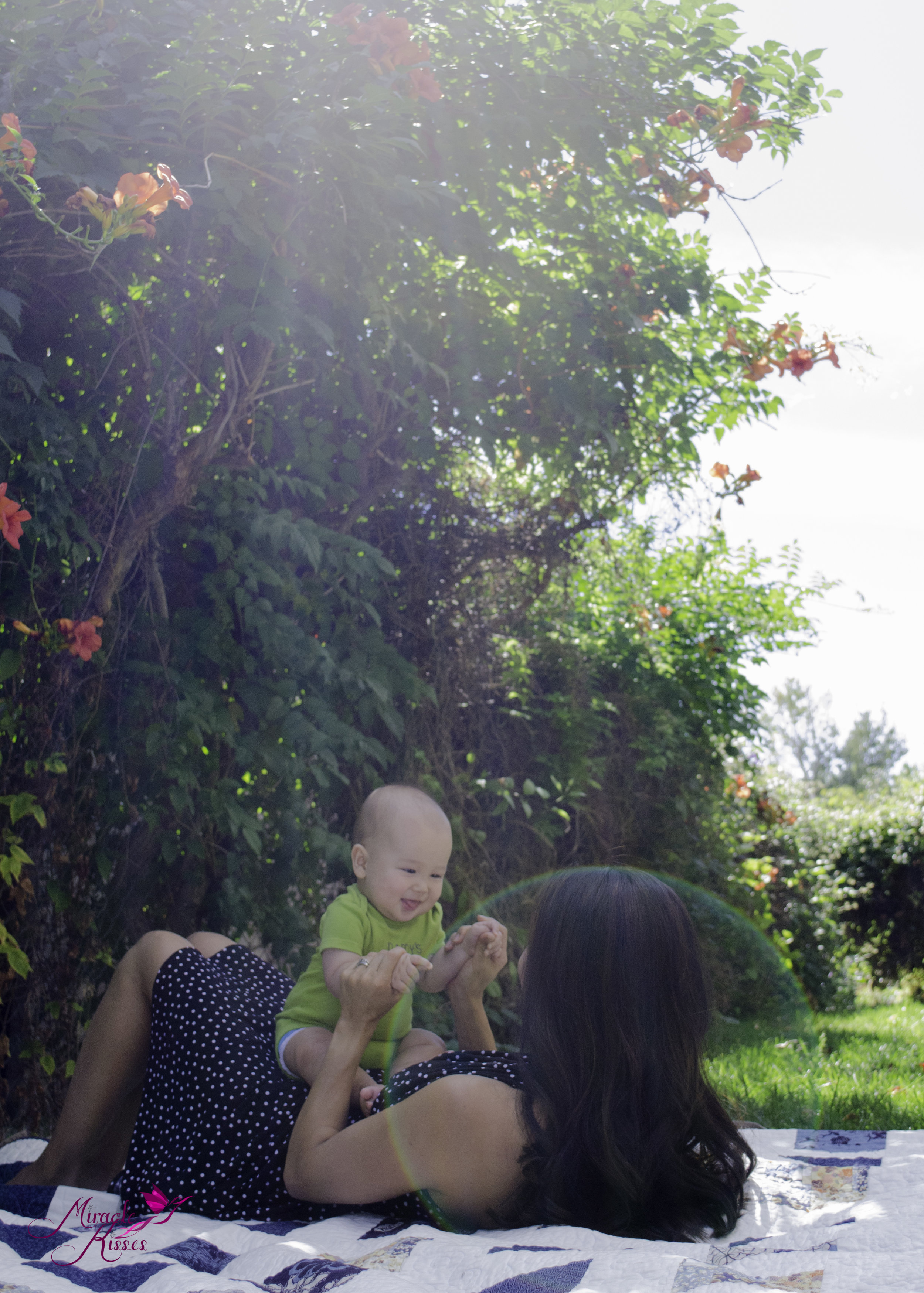 Sunflare, playing with momma, the bond project
