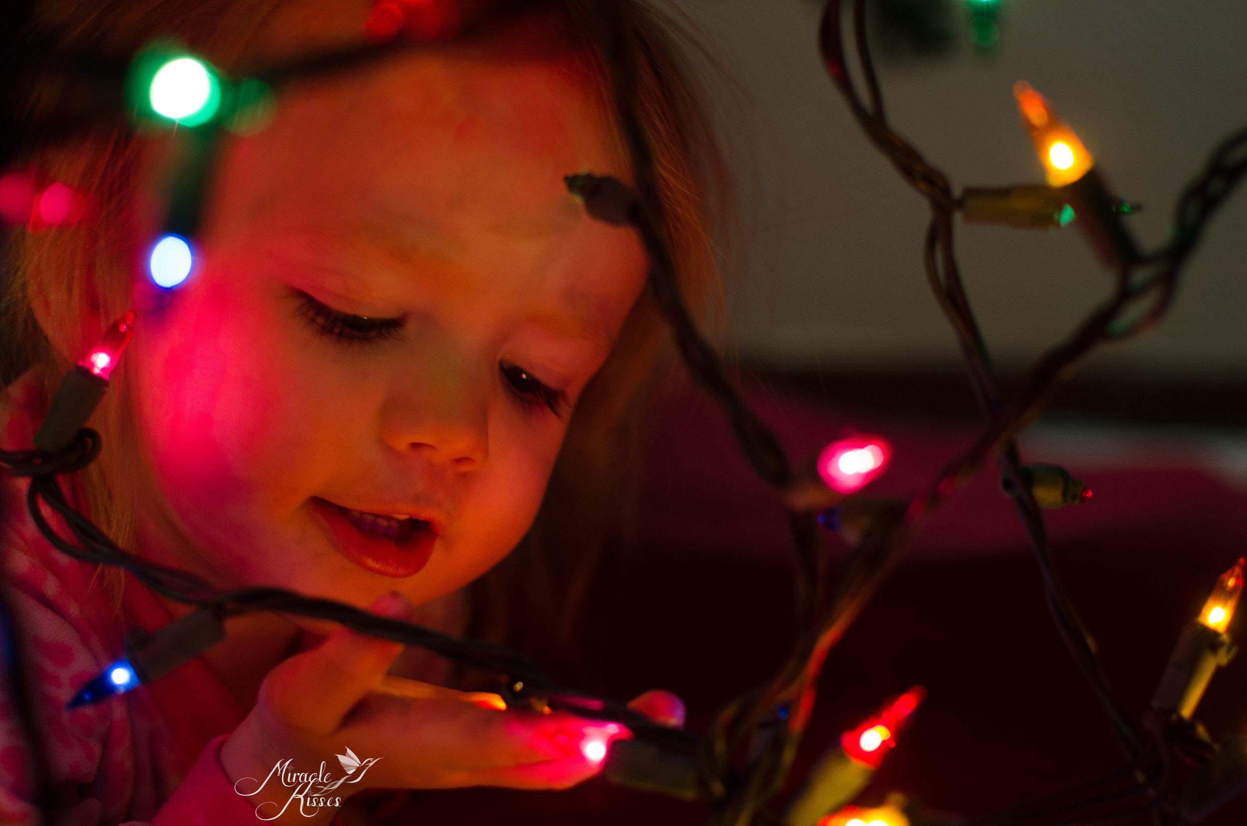 365mk2017, Sparkly, Christmas tree light, child magic