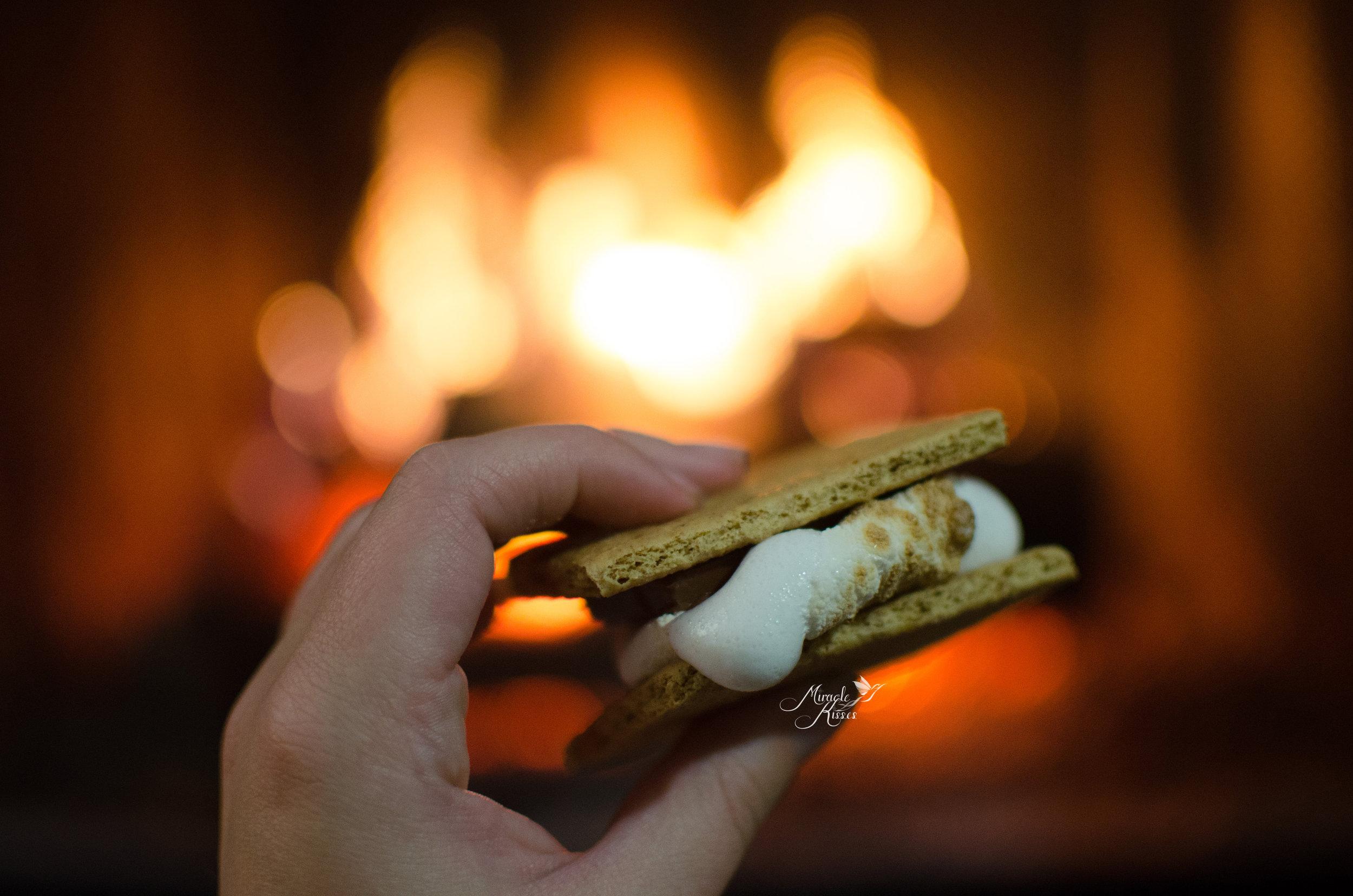 365mk2017, fluff, s'more, marshmallow, yum