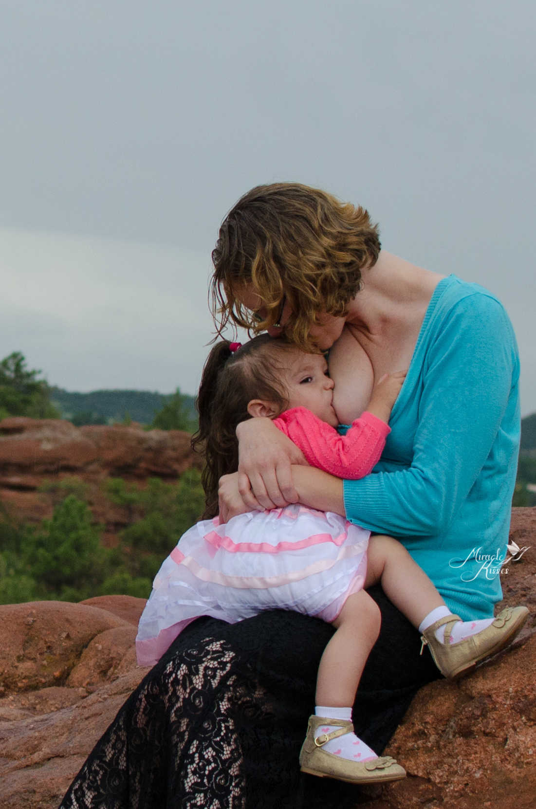 extended breastfeeding, garden of the gods in the rain