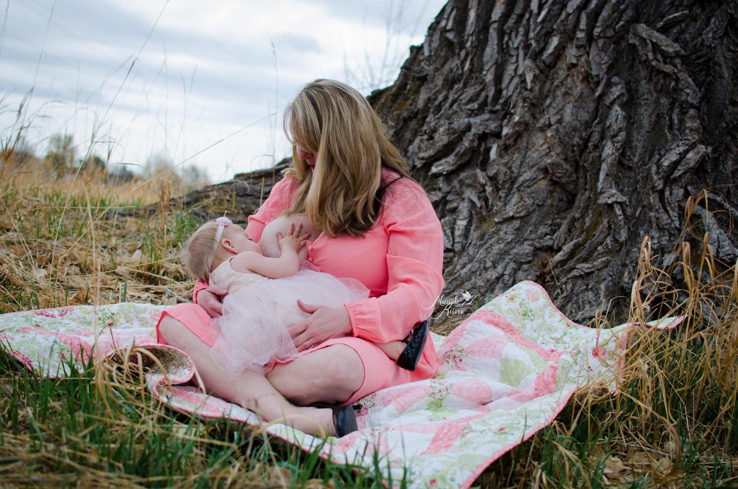 Normalize extended breastfeeding, world breastfeeding week, nature mom