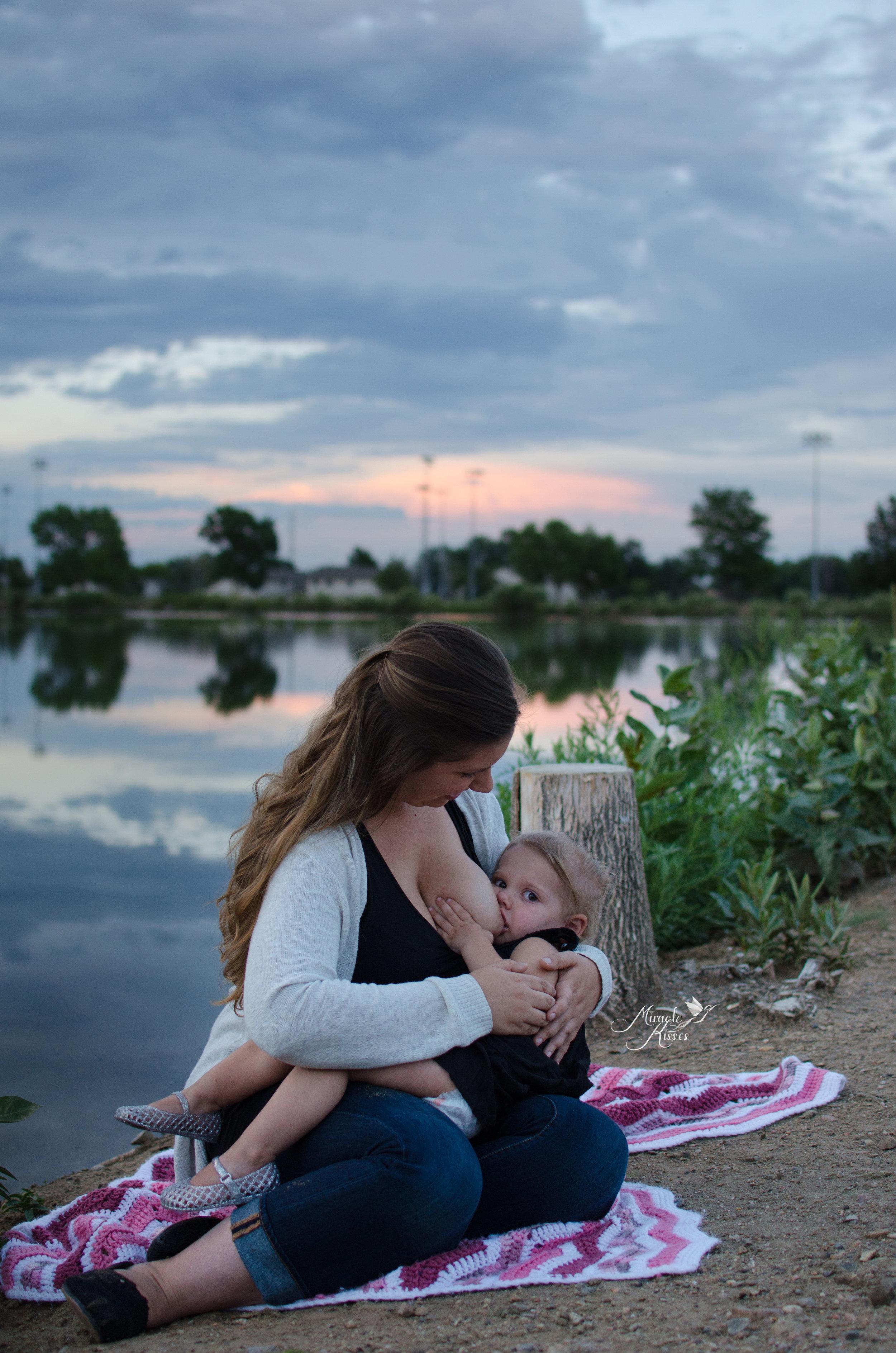 normalize extended breastfeeding, tandem nursing, sunset photography