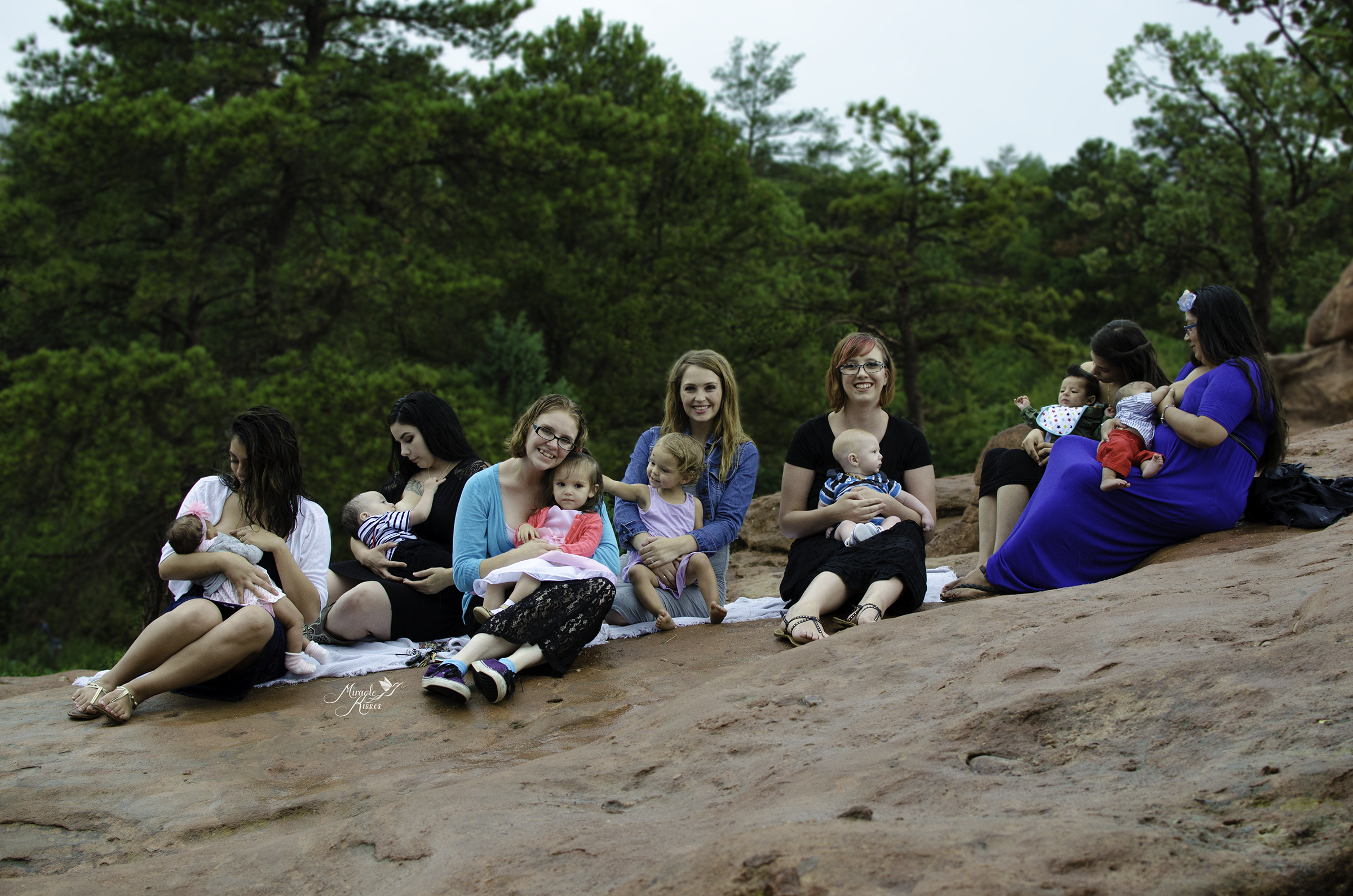 Normalize breastfeeding, colorado group breastfeeding photo, garden of the gods