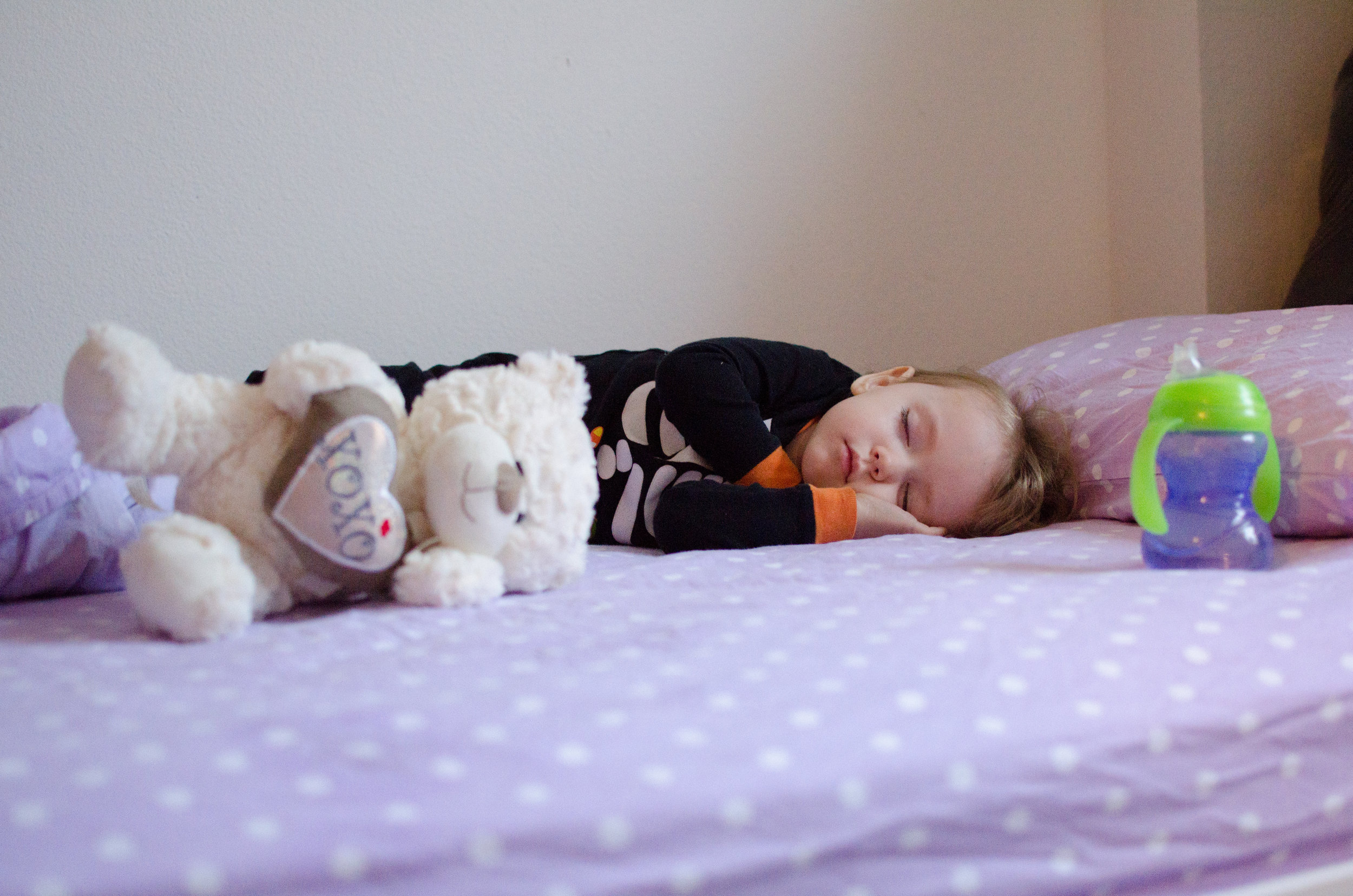 toddler sleep, own bed, first room