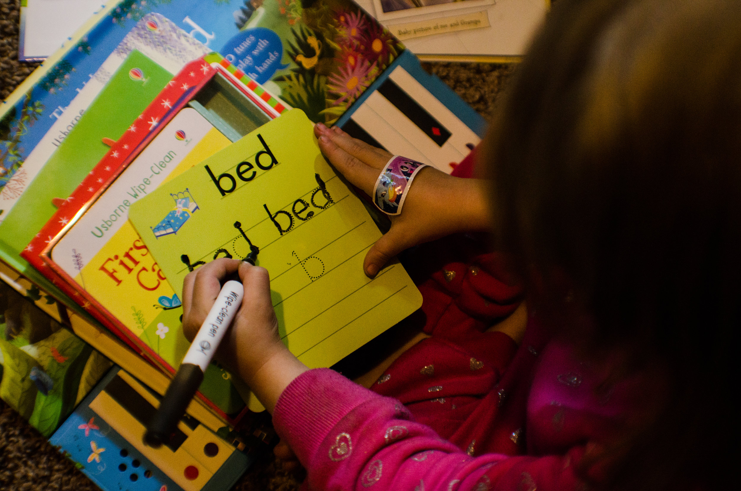 learning to write, favorite word, motherhood