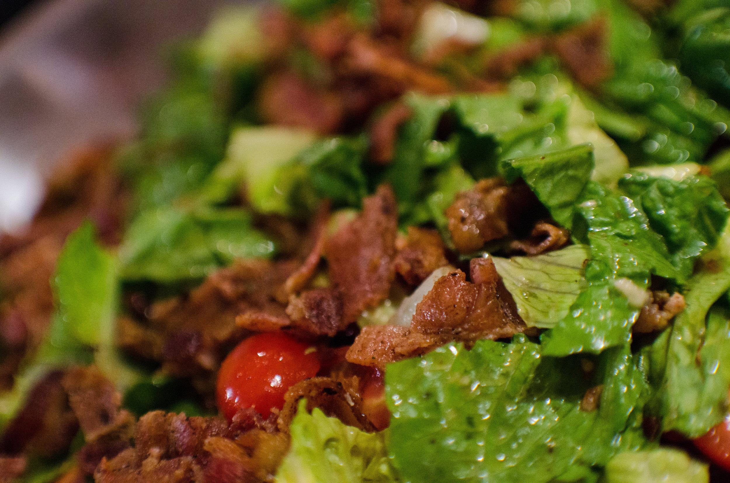 bacon salad, delicious, colorado photographer