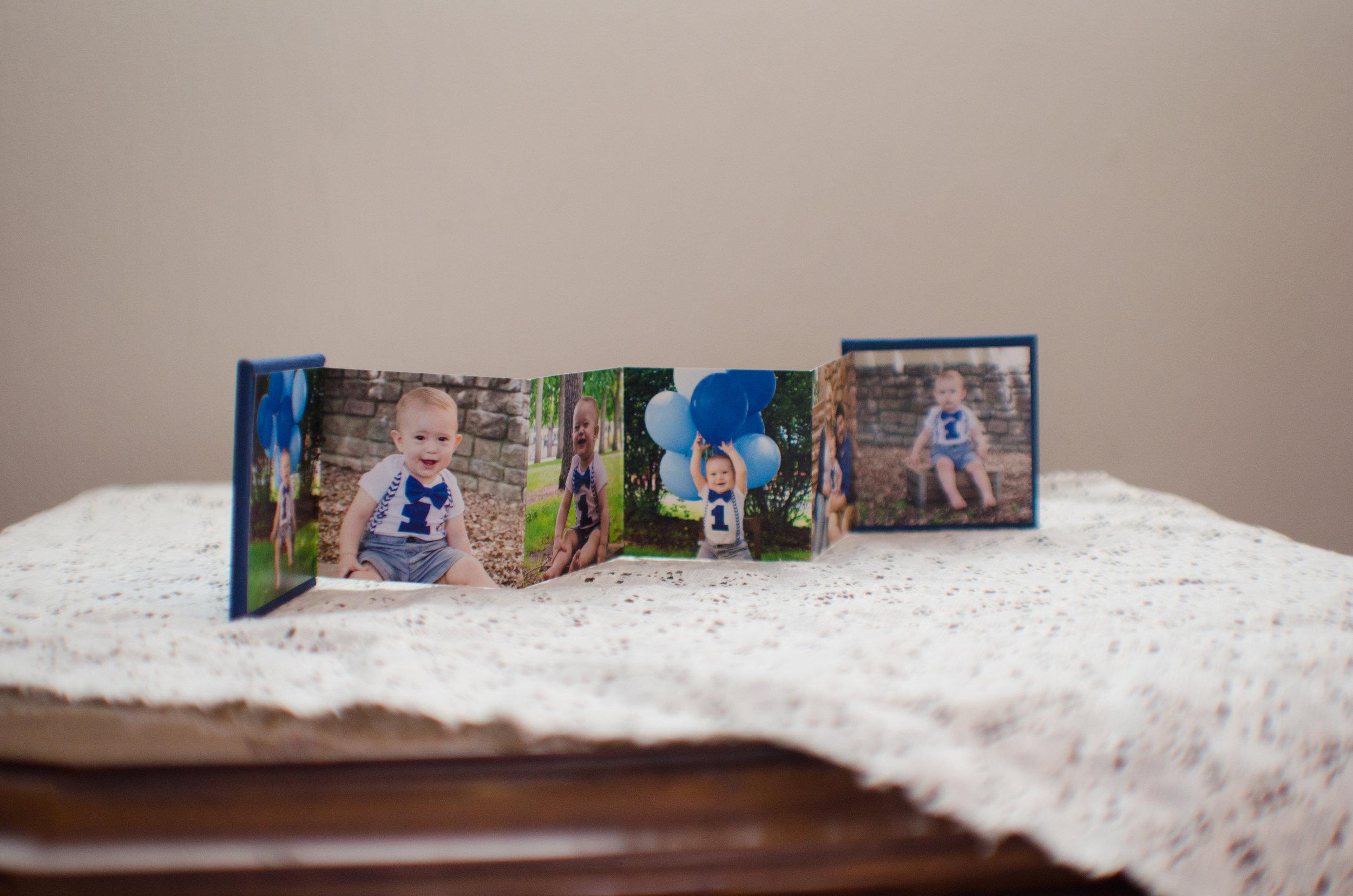Colorado photographer mini gift album