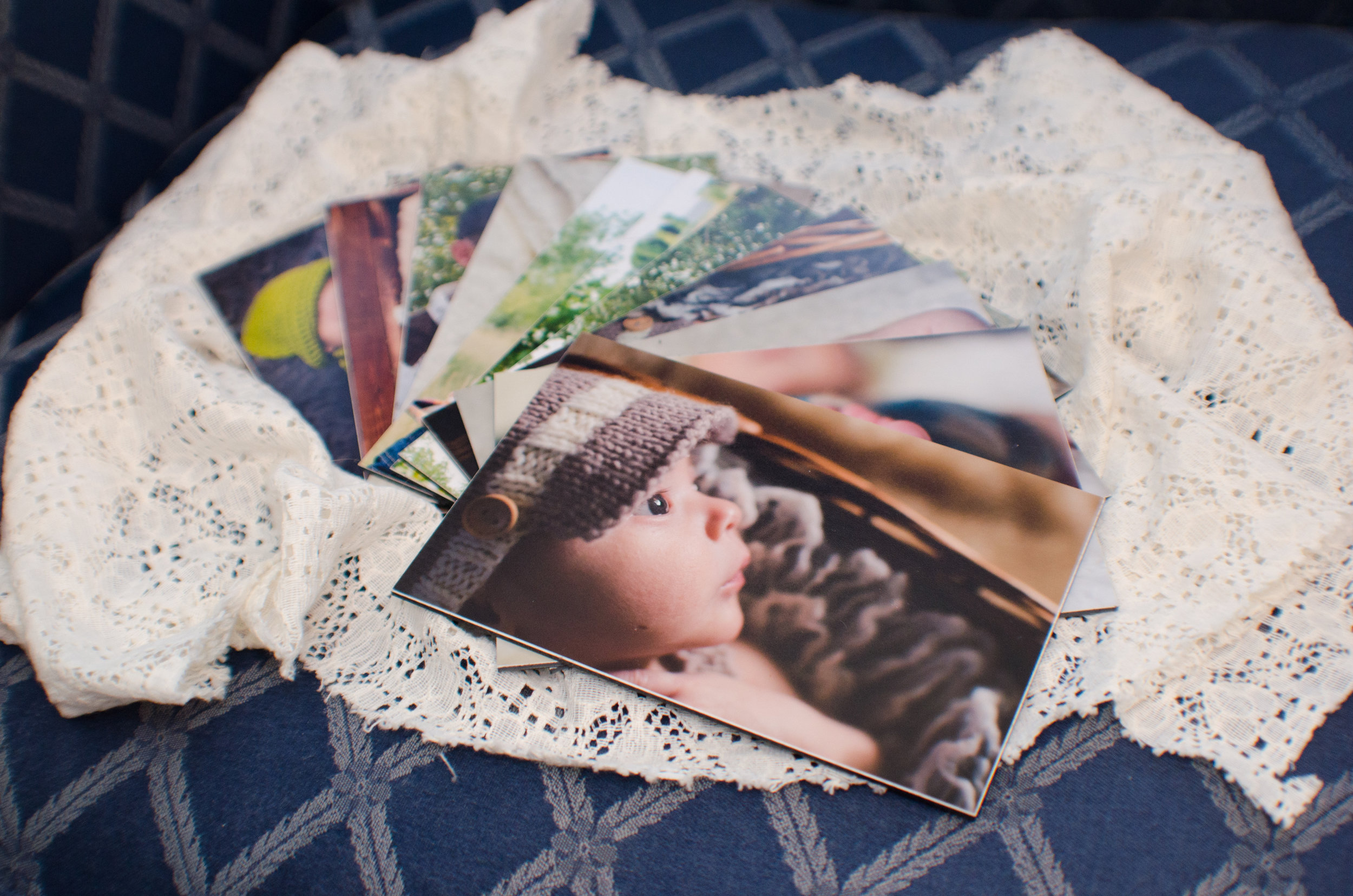 Photography mounted prints