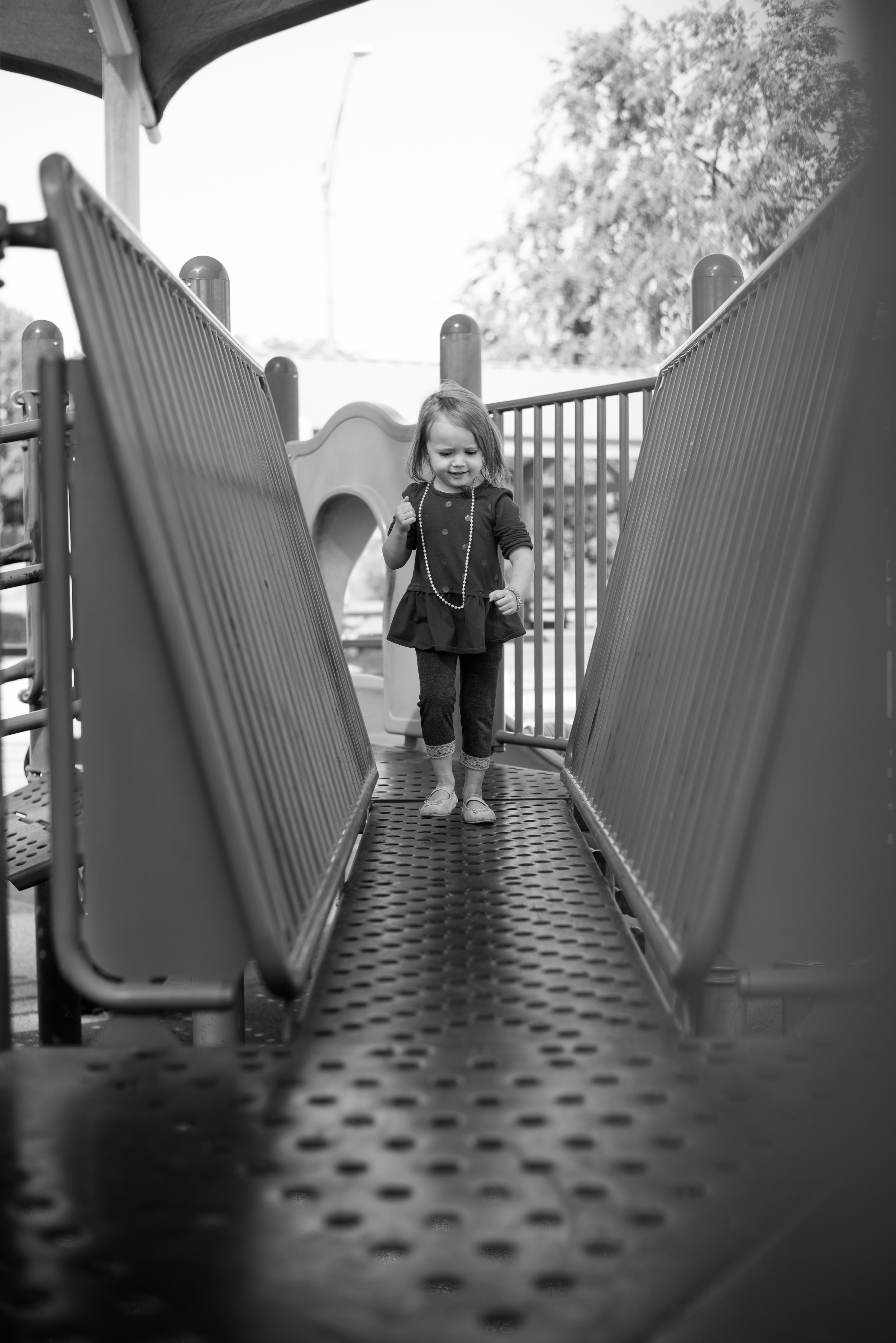 determined, brave, playground fun