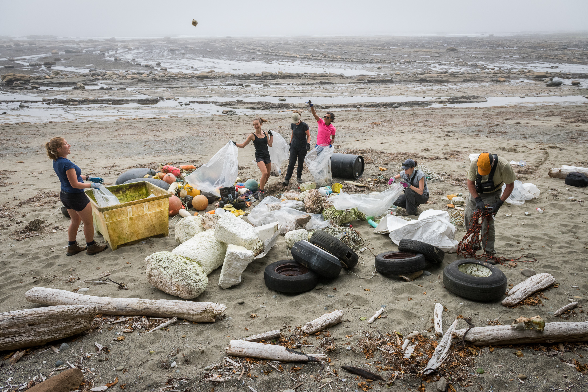 Photo courtesy of Great Canadian Shoreline Cleanup