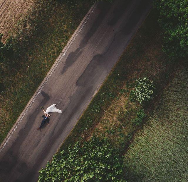 Ein Drohnenfoto geht (fast) immer ☺️