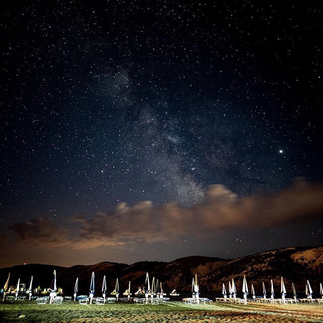 Wenn man nachts rausgeht, kann man auch Sterne sehen 😉