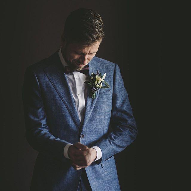 Ich stelle immer wieder fest es gibt viel zu wenig Portraits von Bräutigamen in meinem Feed 😆