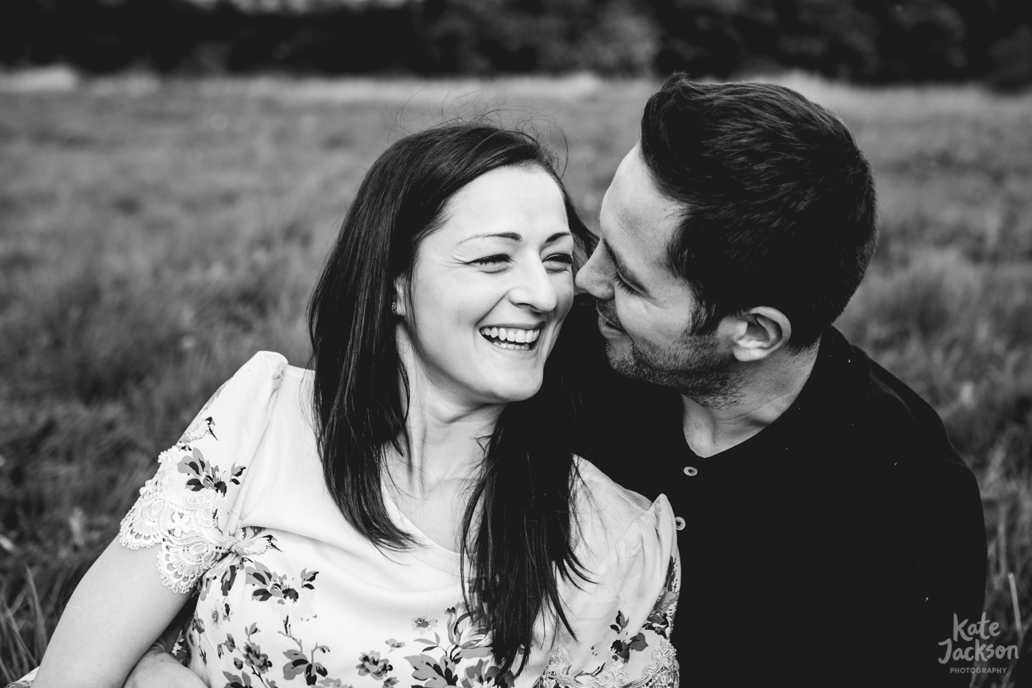 Happy & Fun Engagement Photos - Kate Jackson Wedding Photography