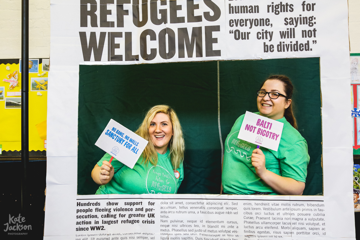 Kingsheath Action for Refugees Event Photography | Kate Jackson