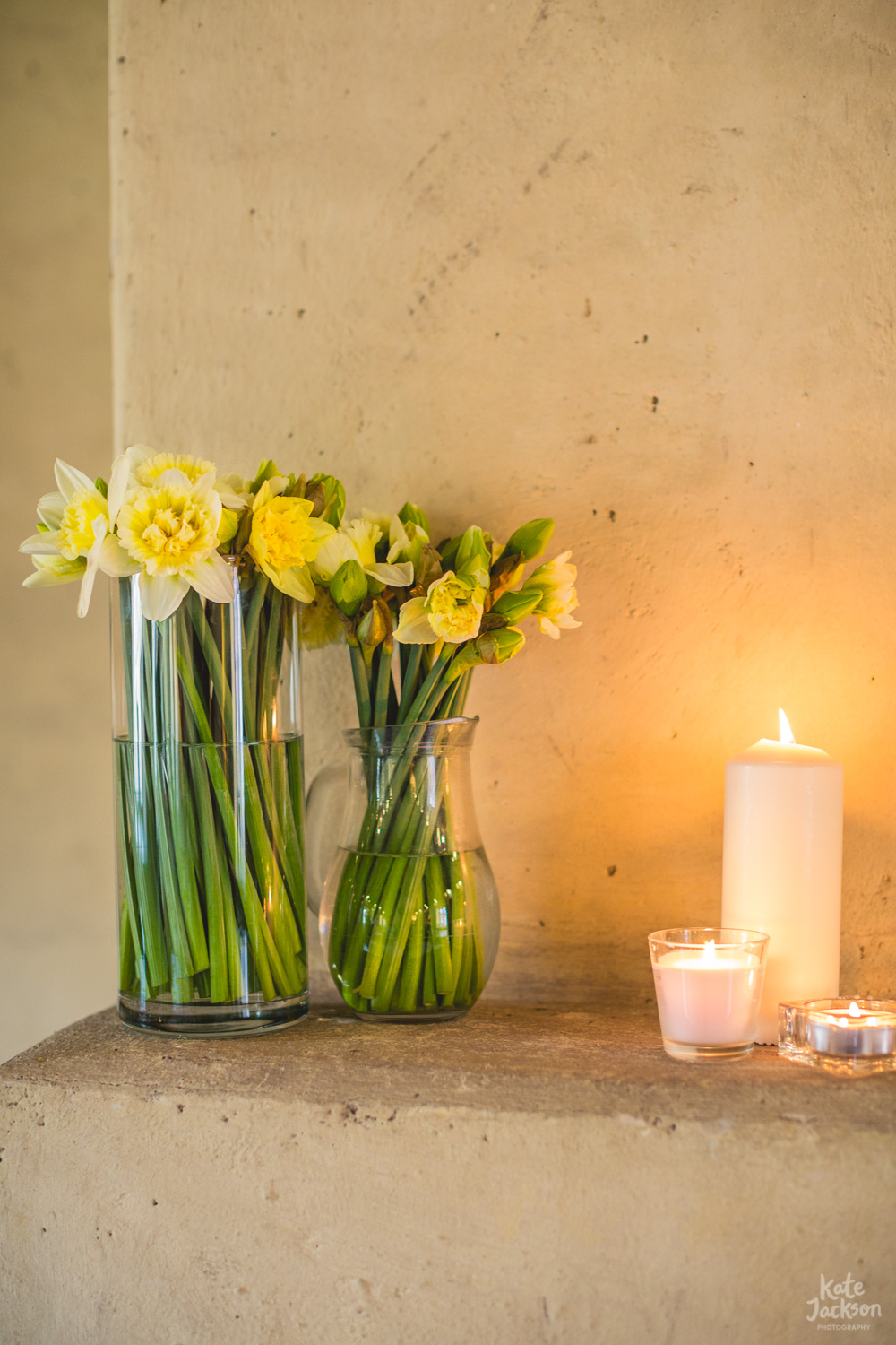 Spring Daffodils, Wedding Details - Blackfriars Priory Gloucester