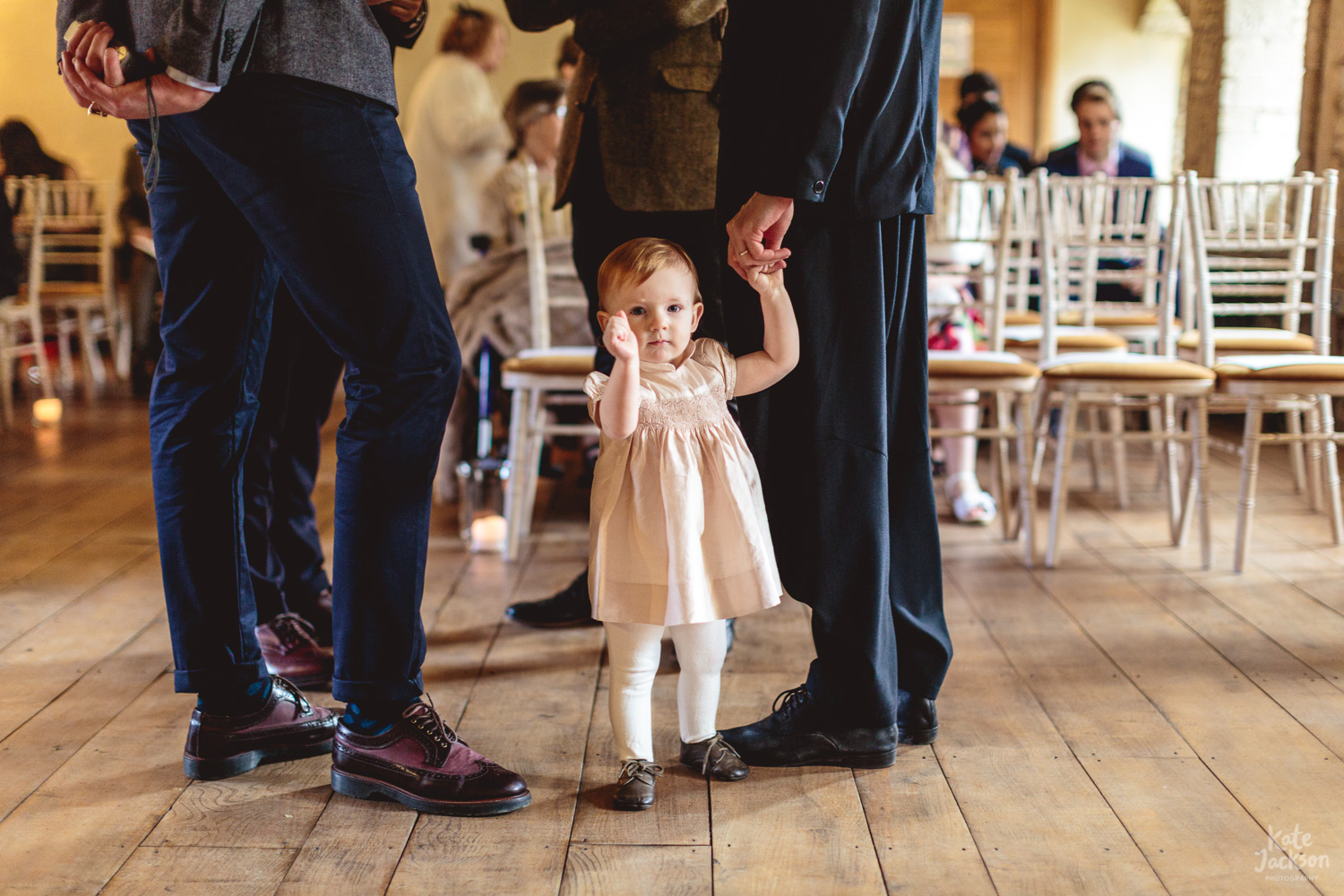 Flower Girl ideas - Quirky wedding at Blackfriars Priory, Gloucester | Kate Jackson Photography