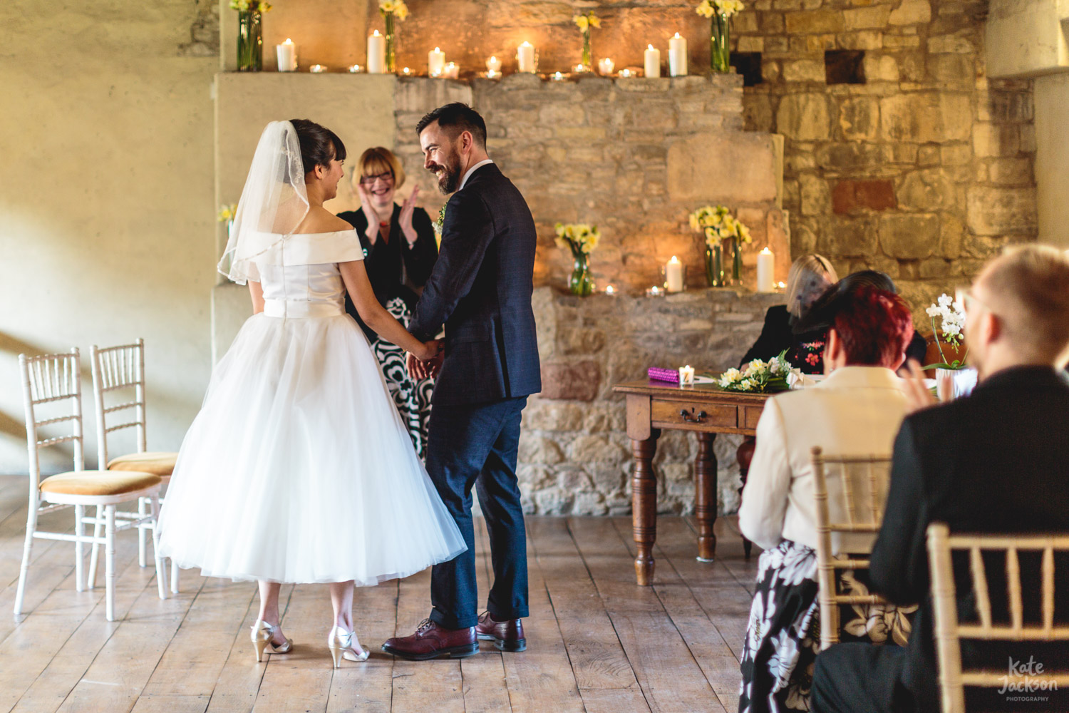 Super Happy Couple - Blackfriars Priory Gloucester | Kate Jackson Photography