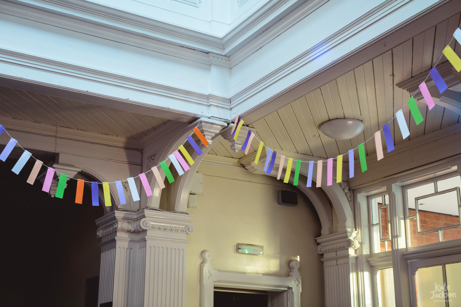 DIY Festival Wedding Bunting Birmingham | Kate Jackson Photography
