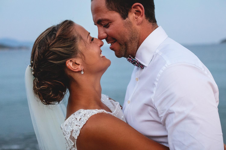 Fun and Relaxed Beach Destination Wedding at Kassandra Bay Resorts, Skiathos, Greece