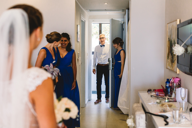 Natrual Documentary Photography at beach wedding in Skiathos