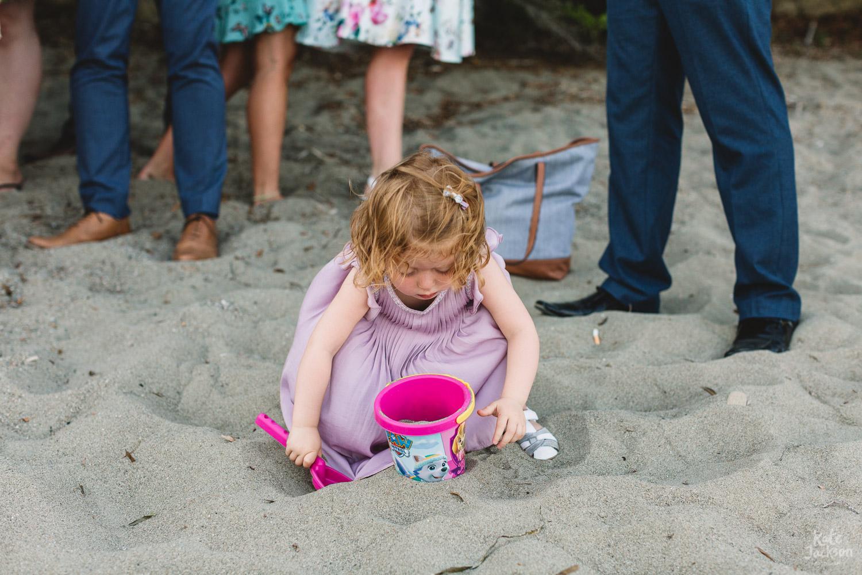 Fun on the beach at Skiathos Destination Wedding
