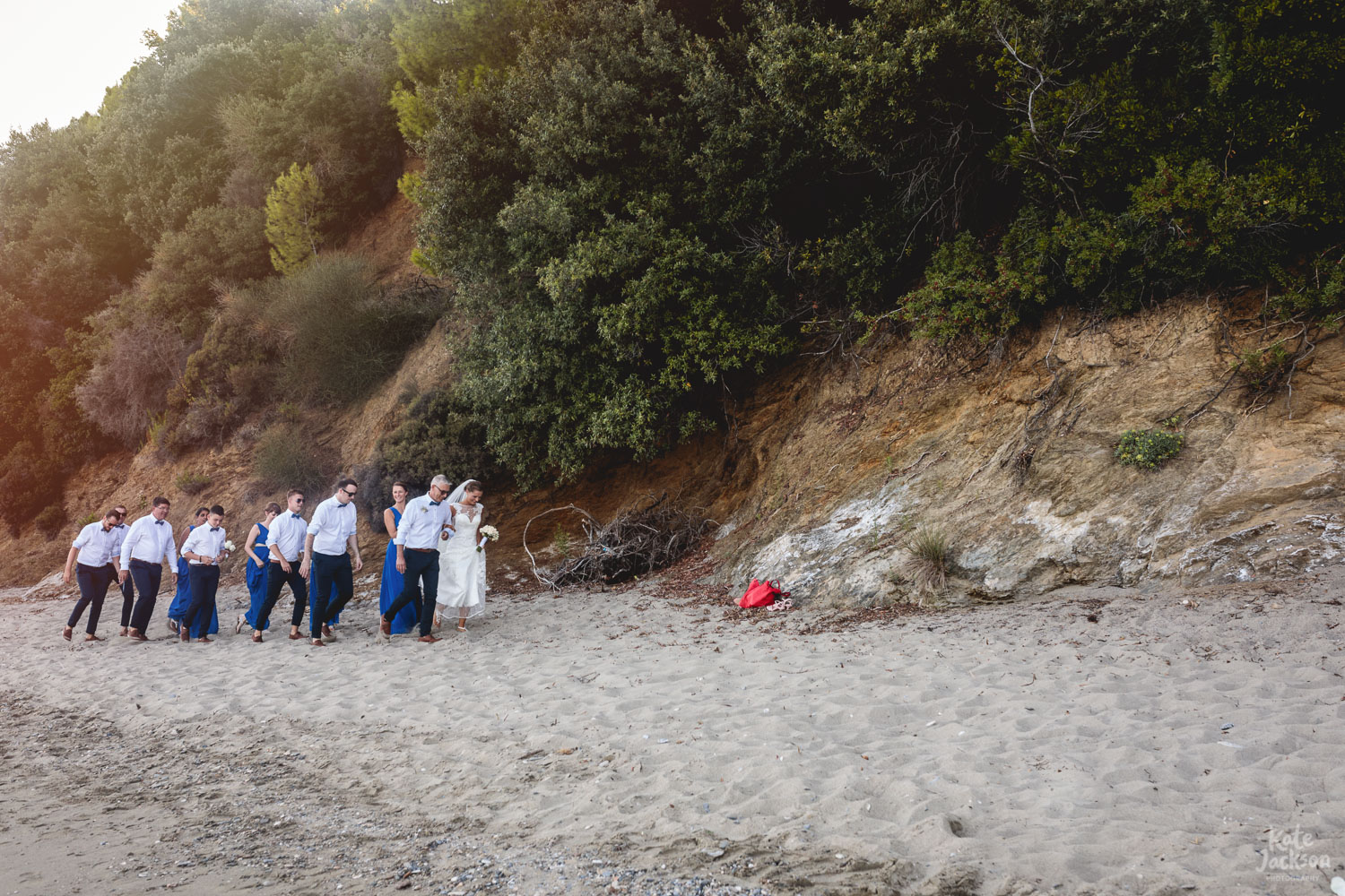 Relaxed Beach Wedding Photography