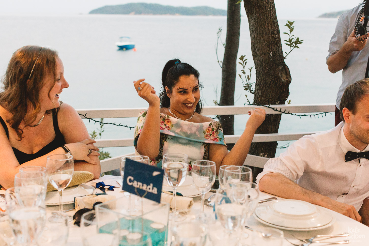 Wedding Overlooking the Sea Relaxed Destination Photography