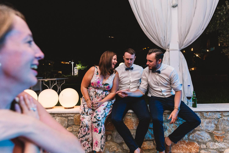 Beach Wedding Party At Kassandra Bay Resorts