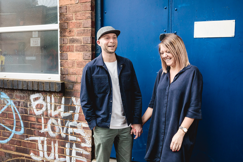 Quirky Birmingham Wedding Photo Shoot with Graffti