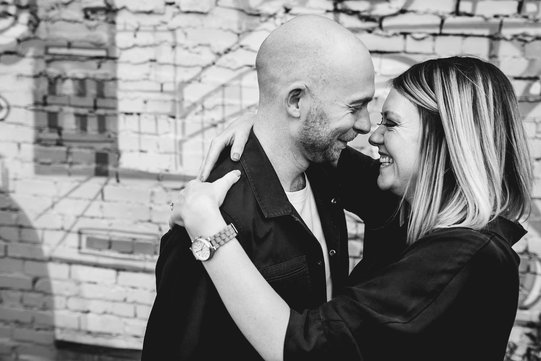 Fun and Honest Wedding Photographer at Fazeley Studios in Birmingham