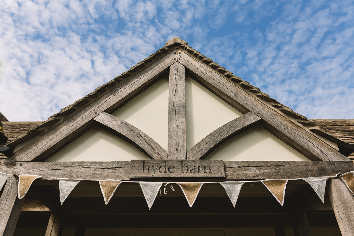 Hyde Barn Cotswolds Wedding Venue Exterior