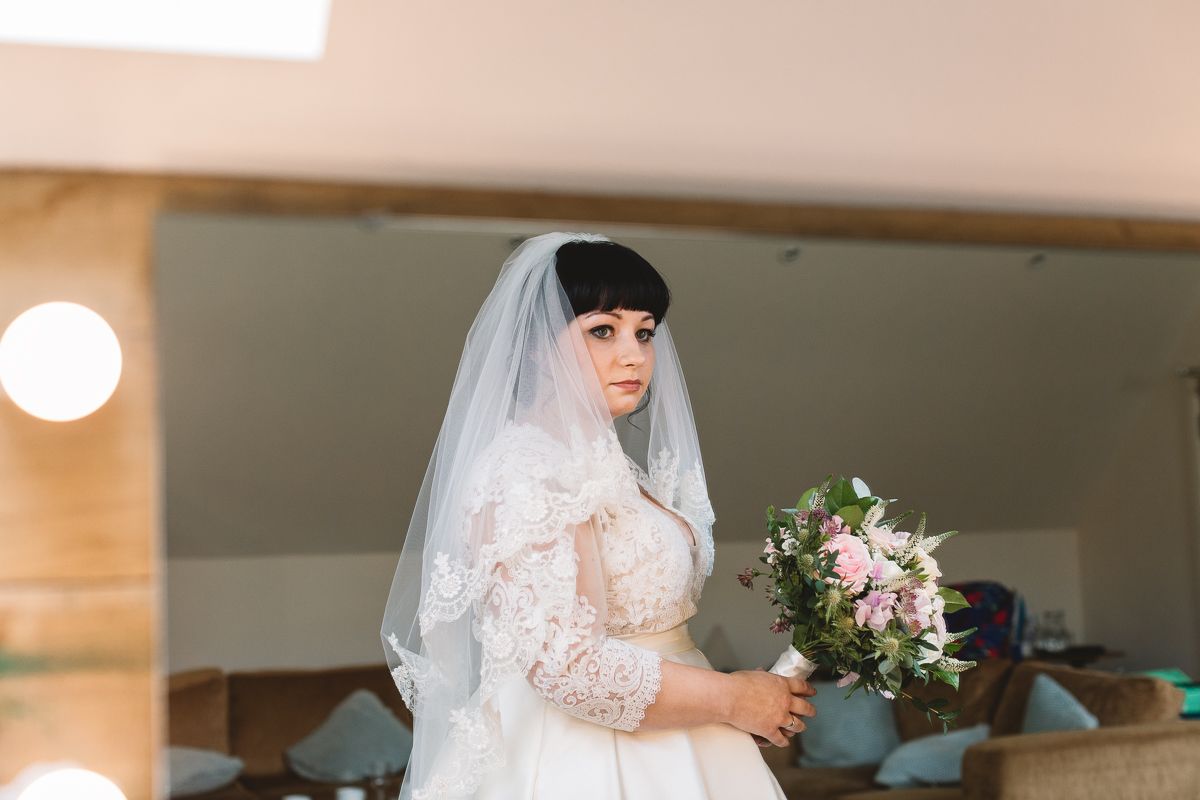 Vintage Style Wedding Dress from Berketex Bridal