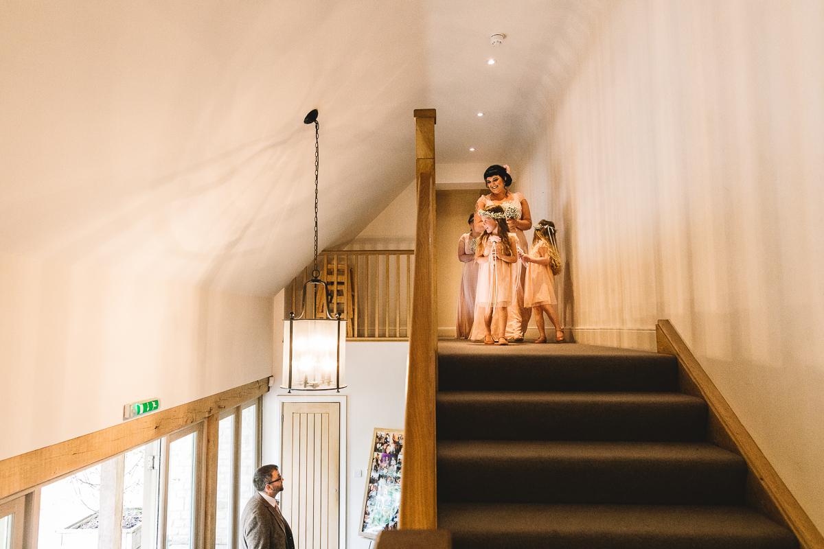 Hyde Barn Cotswolds Wedding