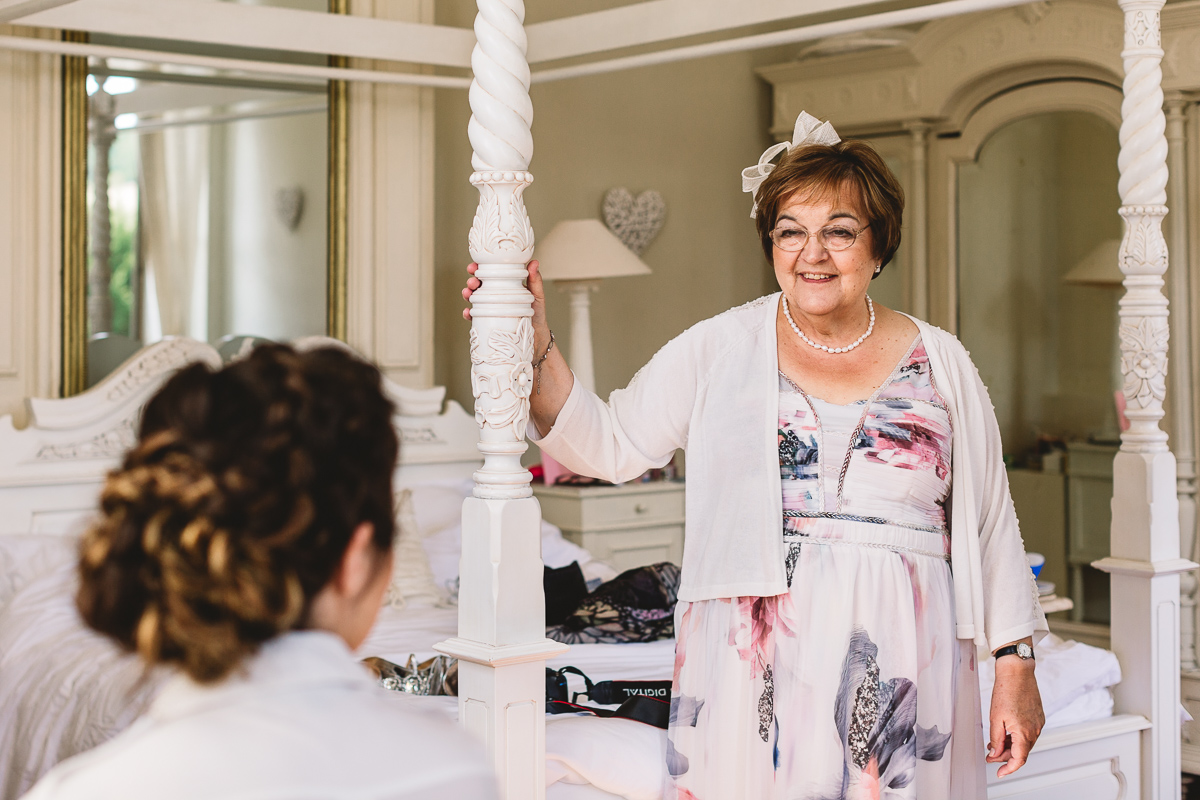 Mother of the bride destination wedding photographer