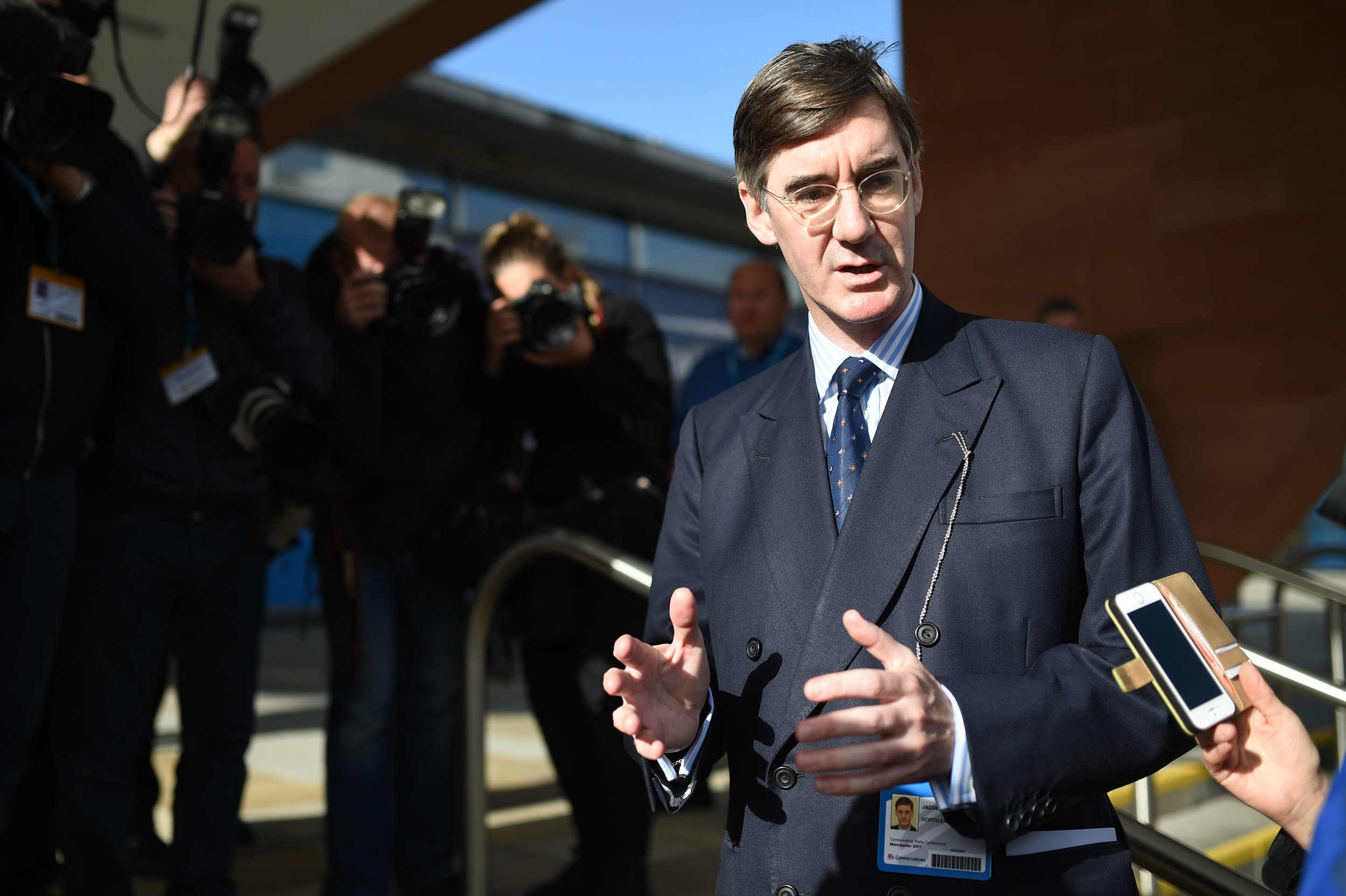 MP Jacob Rees-Mogg ( Oli Scarff/AFP