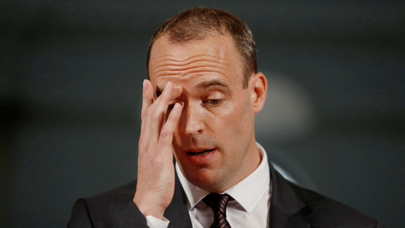 Photo of Dominic Raab by Peter Nicholls/Getty