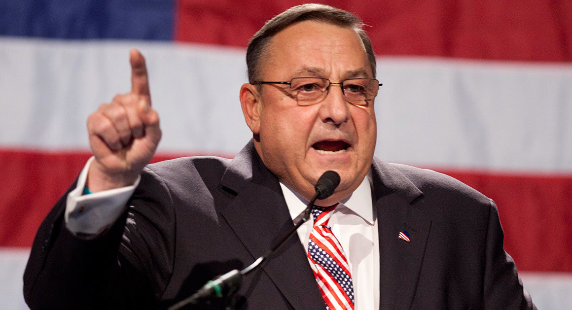 Paul LePage (photo by Politico)