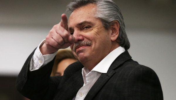 Photo of Alberto Fernandez (Reuters)