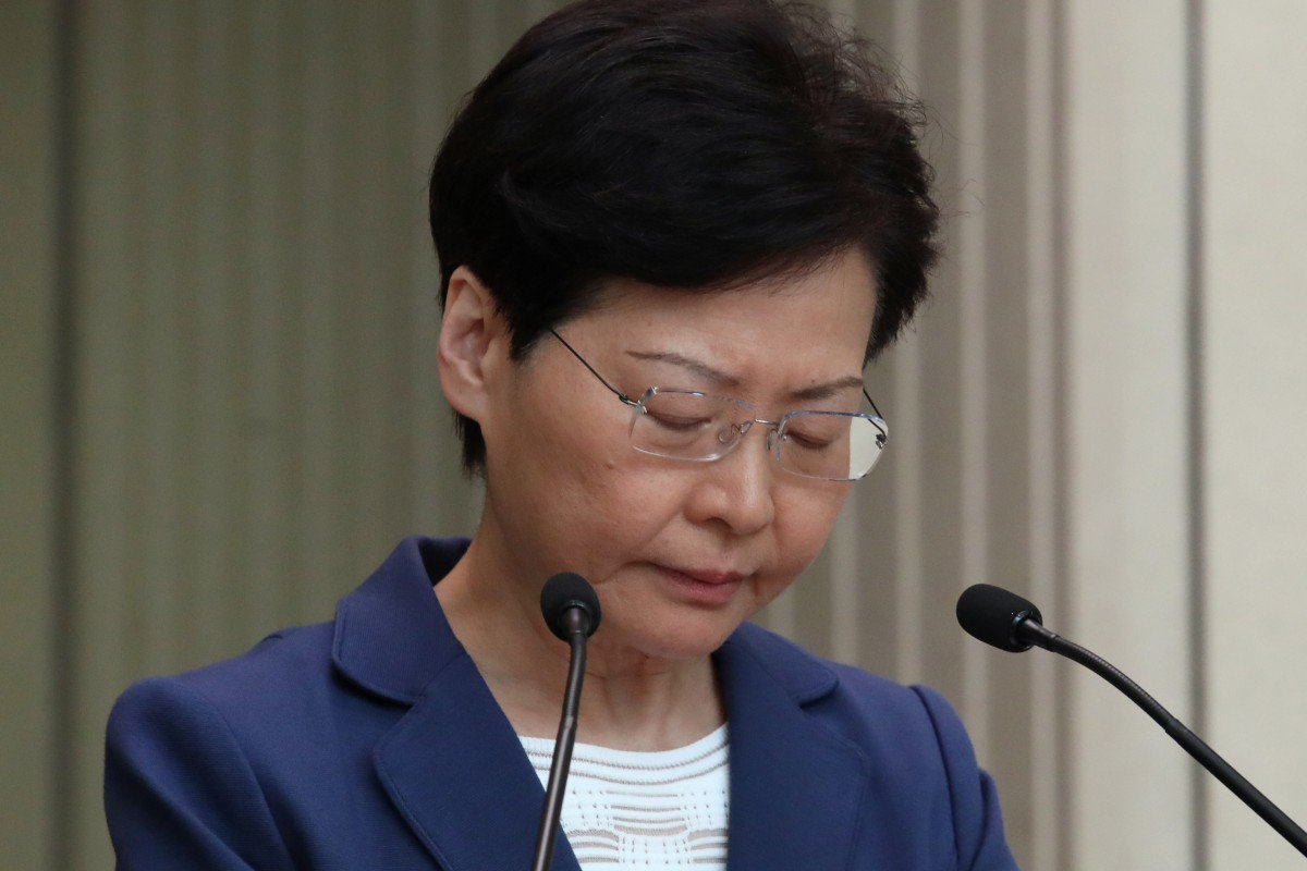 Photo of Carrie Lam (By Nora Tam)