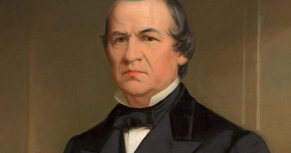 President Andrew Johnson was impeached in 1868. (CBS News)