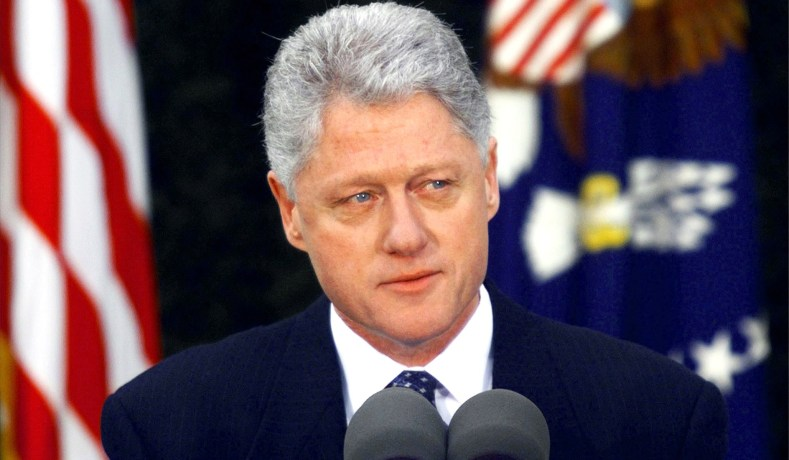 President Bill Clinton was impeached in 1998. ((Blake Sell / Reuters)