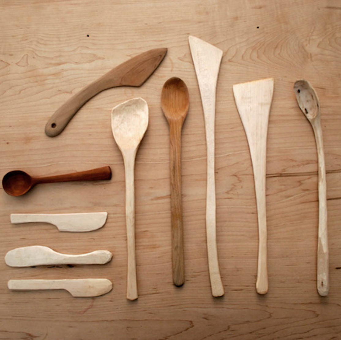 Prairie Mountain Folk School - Joseph, Oregon - Carving the Wooden Spoon
