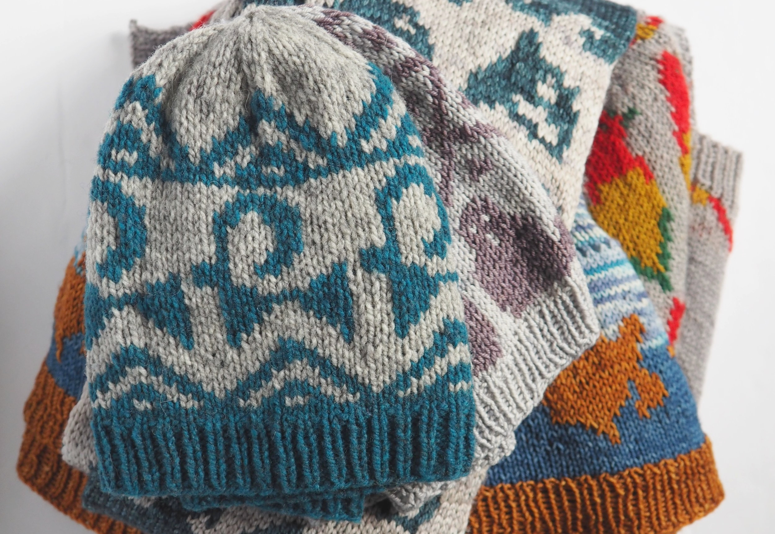 ANIMAL TRICOT- 5 PATTERNS TO EXPLORE YOUR INNER ANIMALS -