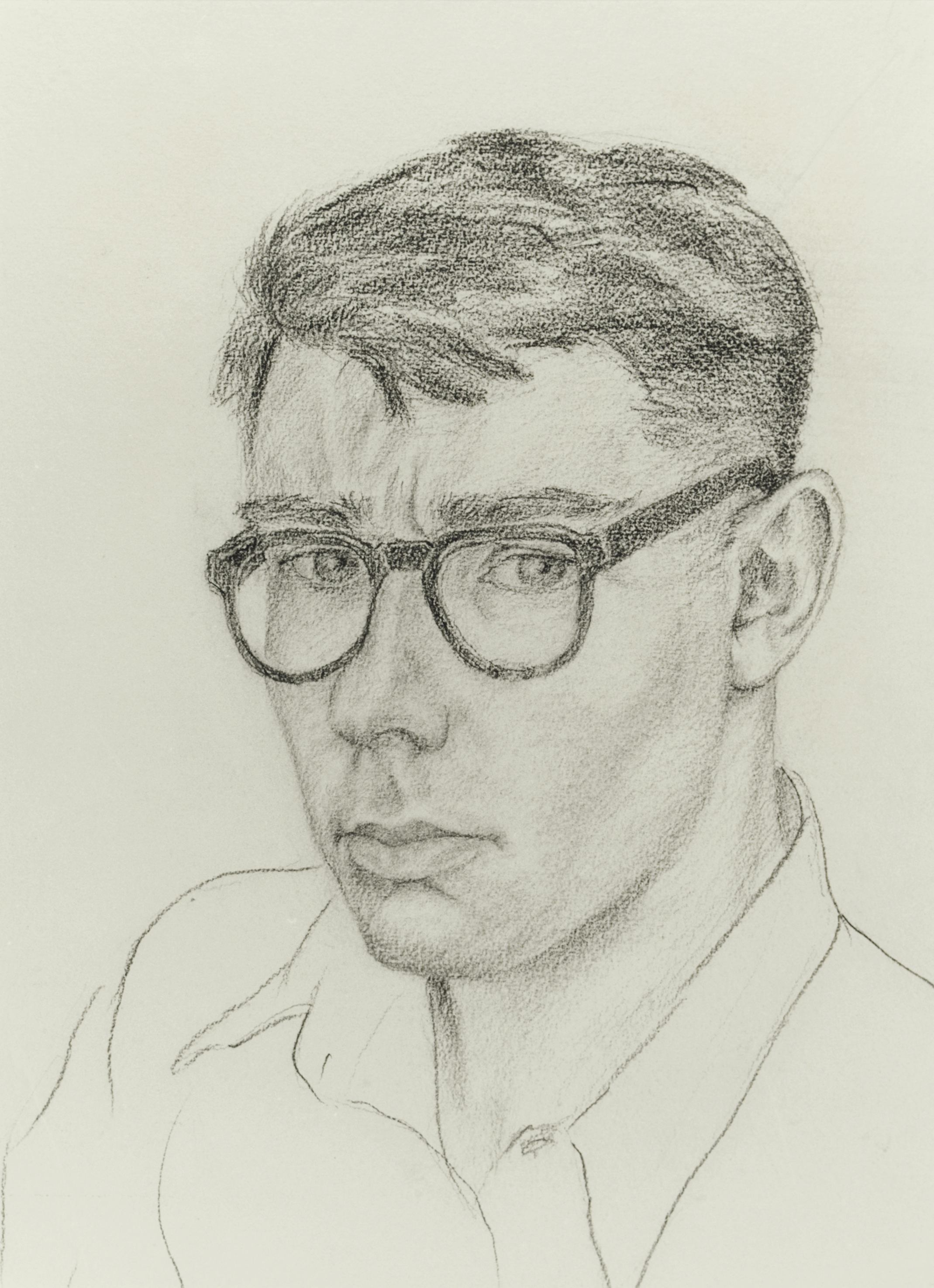 Sketch of Peter Eldershaw (1927-1967)