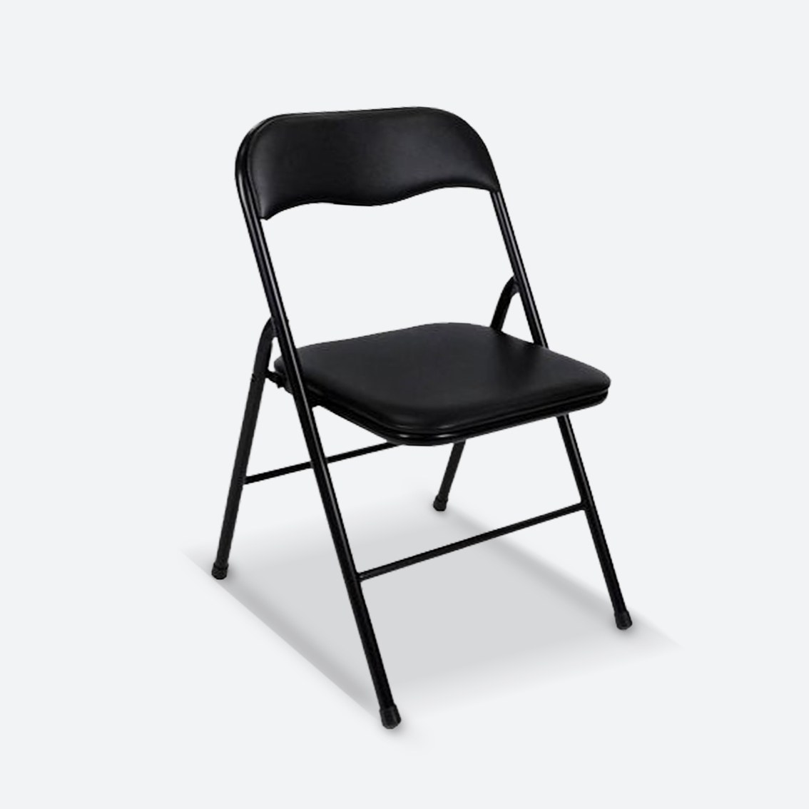 FOLDING CHAIR   BLACK  $3.95
