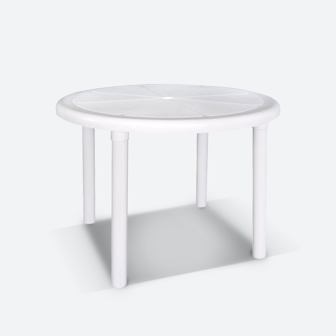 ROUND PATIO TABLE  $12.00