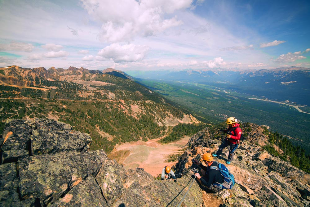 Test your mettle on the Via Ferrata -