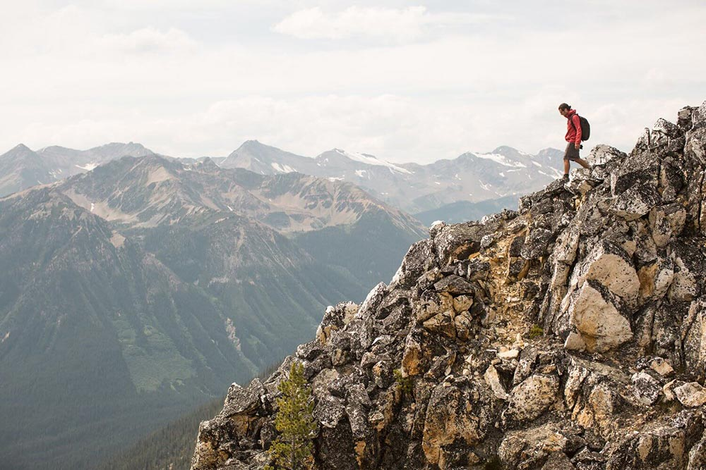 Hike up to see glaciers in a national park -