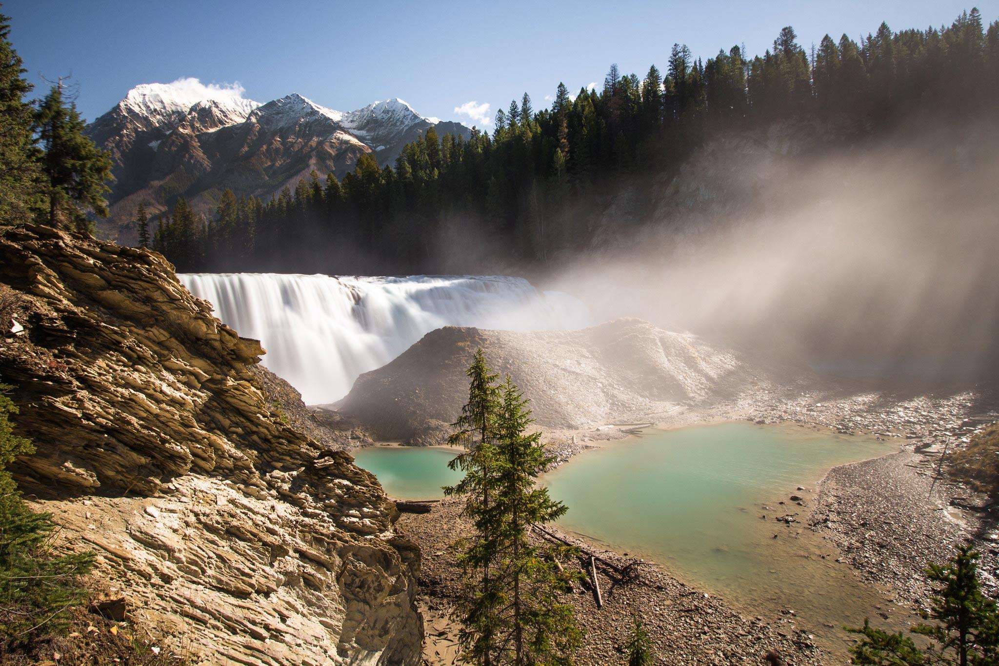 Hike to Wapta Falls, the 'Niagara Falls' of Yoho National Park -